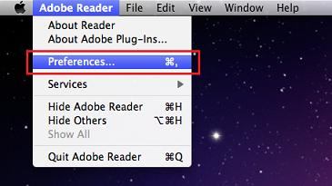 adobe reader 11 open pdf in browser